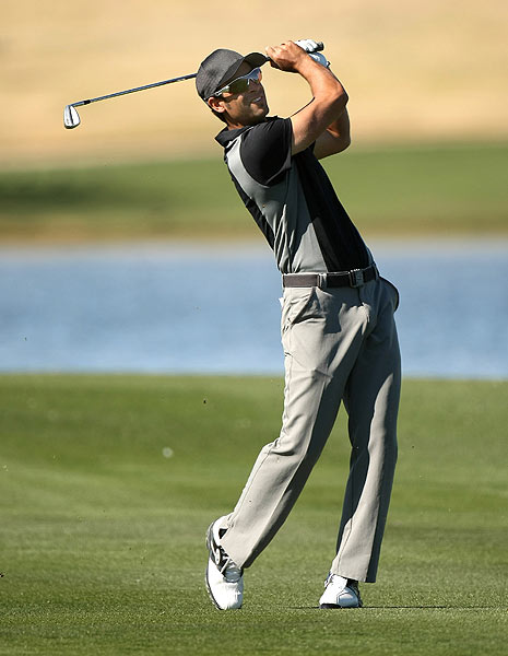 First Round of the 2009 FBR Open                       James Nitties shot a 6-under 65 at TPC Scottsdale for a share of the early lead on Thursday.