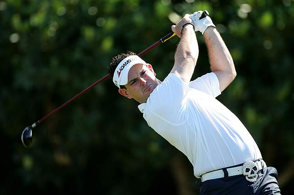 Rory Sabbatini had back-to-back birdies on Nos. 5 and 6. He is at one under par.