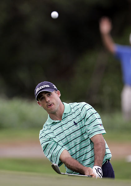 Jonathan Byrd birdied three of his final four holes to finish one off the lead.