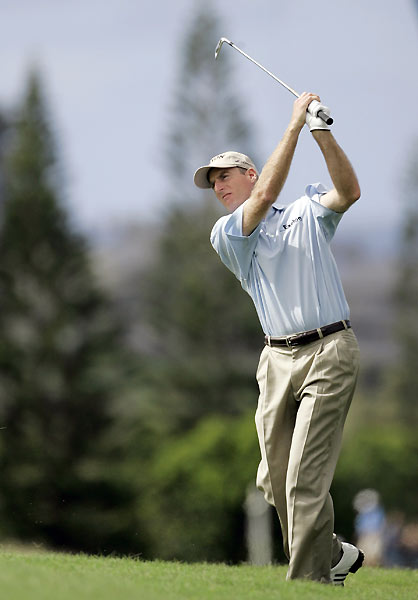 Kapalua resident Jim Furyk finished at two under.