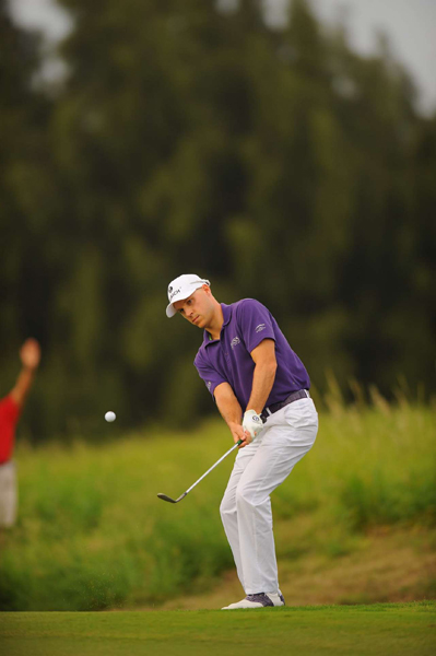 birdied two of the last three holes for a 3-under 70.