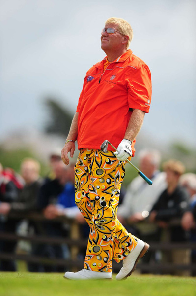 John Daly: The Incredible Shrinking Ferret                           By eating nothing but Marlboro Lights, and wearing pants that scared the crap out of his cellulite to the extent that it ran down his legs and formed insoles in his Foot-Joys, Lil' John lost 600 pounds in the last calendar year. Yes, Johnny be gellin'. (During the commercial break, J.D. also bagged The Why the Hubble Telescope Points Away From Earth Ferret.)