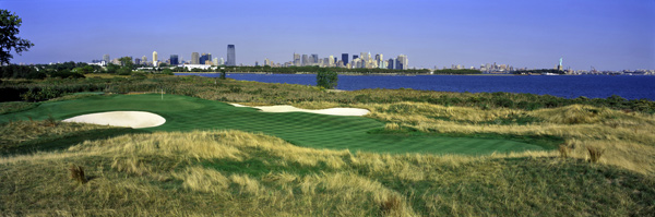 Liberty National Golf Club: The Best Use of a Landfill Since Paulie Gualtieri Ferret                           Within methane-rasping distance of the famous statue that bears the same name, Liberty National is a 7,400-yard Kite-B-Cupp design squeezed into 108 acres of what was a New Jersey landfill, and is both a design and an engineering marvel. Many players had less than kind things to say about it, but only because it asked them questions they couldn't answer. Normally when a fairway is 18 yards wide, they get to hit a futility club from the tee, but when it's a 508-yard par 5, driver is the only option. A couple of greens need leveling out, but other than that, Liberty National is startlingly beautiful, and with the methane thing, if anyone hears an on-air fart, we can always blame the nearest water hazard. Which is a pfffffft-erfect segue to...