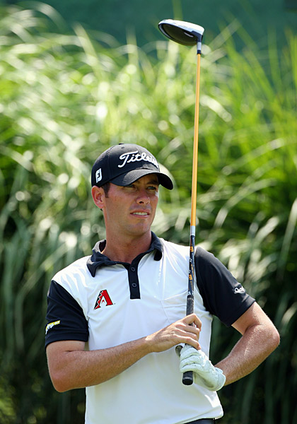 Chez Reavie                       Or some other long shot like him. Reavie won the RBC Canadian Open, and is one of a                       cavalcade of fast-rising pros from Scottsdale,                       Ariz. Trouble is, Tiger probably thinks Chez                       Reavie is a restaurant, not a golfer. Other                       first-time winners in the No-Tiger Era not on                       Tiger's radar: Parker McLachlin, Richard S.                       Johnson and Marc Turnesa.                                              Threat level: Low
