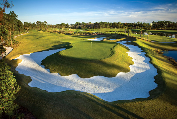 3. Best New Courses You Can Play                       Orlando, Fla.                       7,113 yards, par 72                       Green Fees: $75-$185                       407-597-3783                       waldorfastoriagolfclub.com