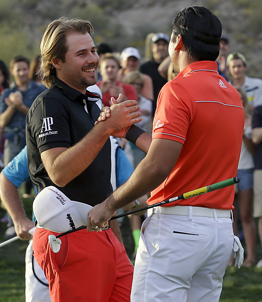 "The 23-hole Day vs. Dubuisson championship match will go down as one of the best duels in golf history. ""Not sure I can recall anything like this in 60 years as a pro,"" wrote Gary Player on Twitter."