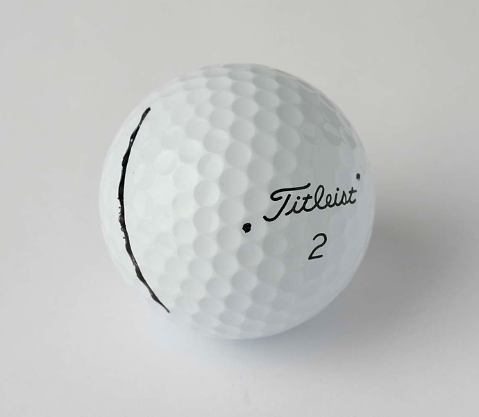 "BALL: Titleist Pro V1 (2009)                           JASON SAYS: ""I've made a lot of money with it, no reason to change it."""