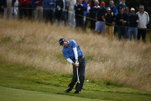 A second-round 72 moved Furyk to one under par for the tournament.