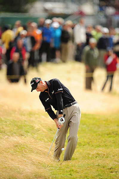 Jim Furyk also fell off the map, making seven bogeys on Sunday.
