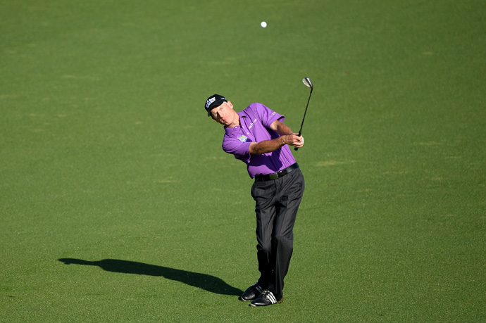 Jim Furyk finished 11th last year at the Masters.