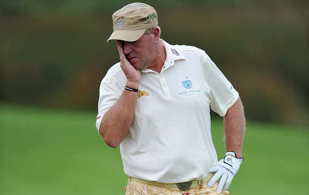 Daly was banned from playing in the Australian PGA in two weeks because of his actions.