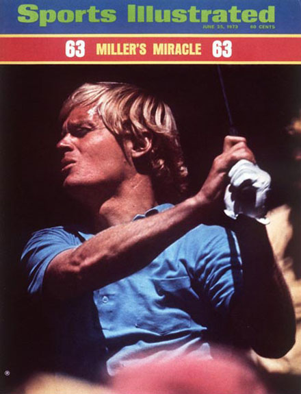 Johnny Miller wins the 1973 U.S. Open at Oakmont, June 25, 1973