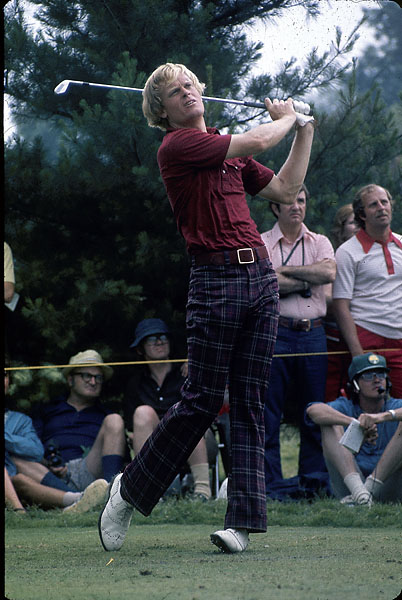 """I haven't seen anybody hit the 5-iron through the wedge better than I did for a few years. Irons haven't really changed much since 1945, for a really good player.""                           Johnny Miller on the best iron player ever. (Photo of Miller at 1973 U.S. Open.)"