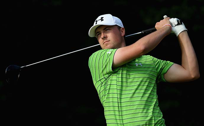 """He'd say, 'I want to play golf.' His mom would put them on a shelf or on top of the laundry machine and say, 'Jordan, you get your golf clubs when you go potty.'""                           --Jordan Spieth's coach Cameron McCormick on his star player's early start in golf."