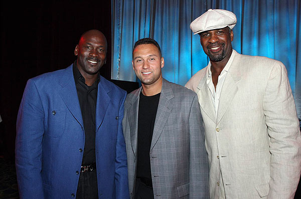 When the sun went down, the stars, including Michael Jordan and Derek Jeter, celebrated at the Atlantis. The Tournament has raised over $4 million for several charities.