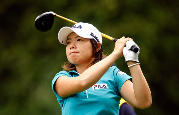 Eun Hee Ji moved into second place after a one-under 70.