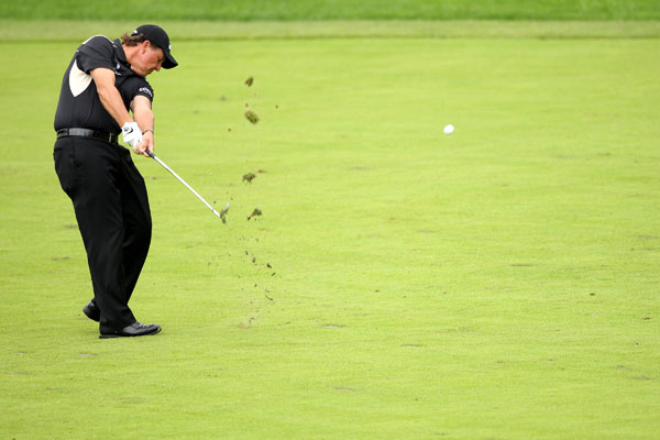 Second Round of the Scottish Open                           Phil Mickelson made a hole-in-one on No. 17 on his way to a 67.