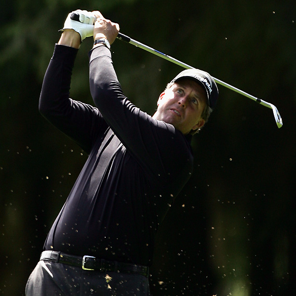 Seven of the top 20 players in the world are preparing for next week's British Open by playing at the Barclays Scottish Open at Loch Lomond Golf Club, which begins Thursday. These images are from Wednesday's pro-am.                                                      Phil Mickelson hasn't made a cut since winning the Players Championship in May.