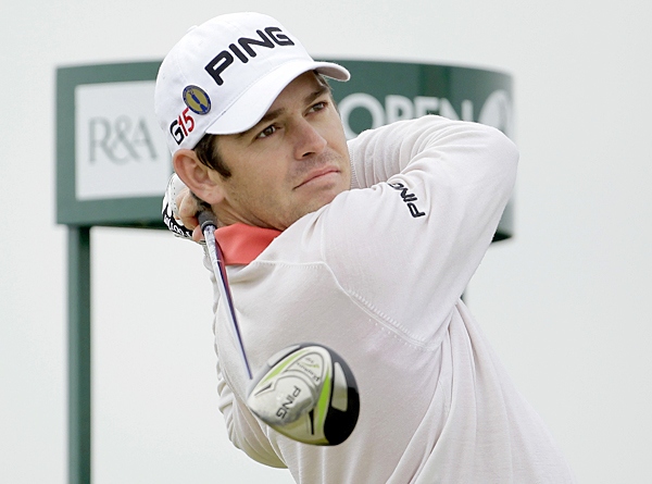 Louis Oosthuizen won the Open last year at St. Andrews.