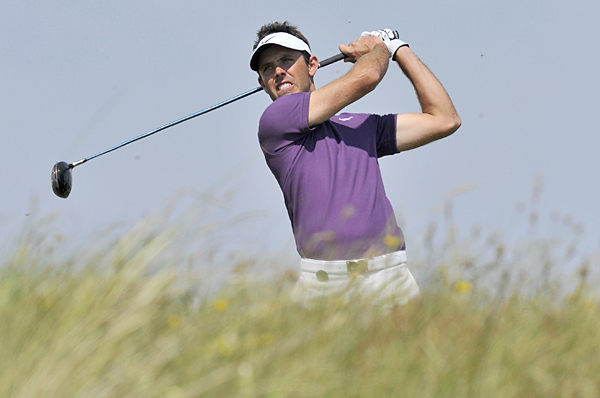 Charl Schwartzel made five birdies and two bogeys for a 67.