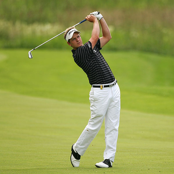 Luke Donald shot a final-round 64 that included eight birdies. He finished T4.