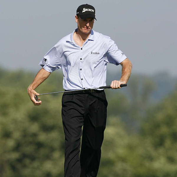 """It's just a mean golf course,"" Furyk said. ""It's set up tough, and there isn't a lot of leeway for poor golf shots."""