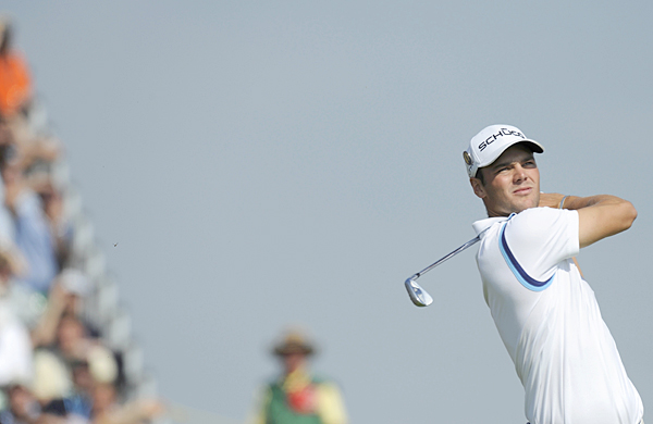 Martin Kaymer is one shot off the lead after a one-under 69.