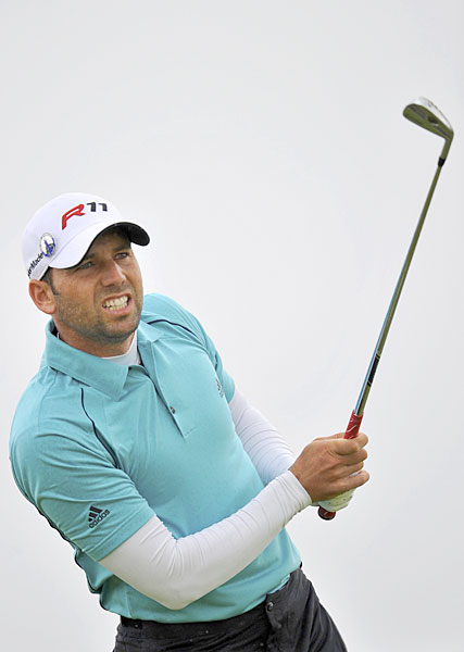 Sergio Garcia had his second-straight top-10 finish in a major.