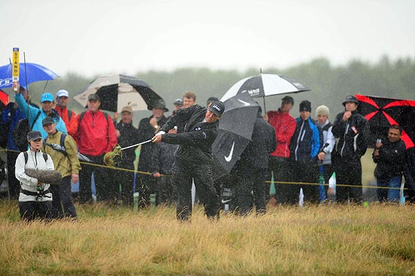 Mickelson never contended at the British Open after a first-round 79.