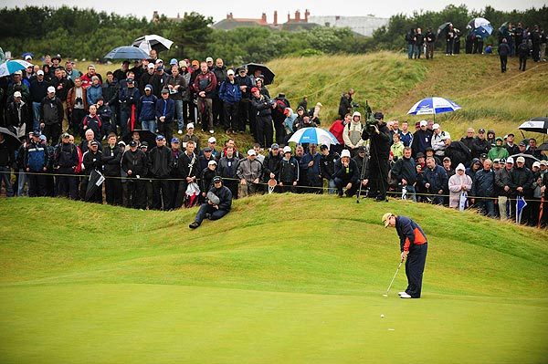 Watson has won the British Open five times in his career.