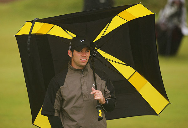 Englishman Paul Casey finished at one-over 72.