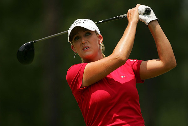 """Cristie Kerr got her 10th career victory Sunday at the U.S. Women's Open. """"It was a very, very emotional day and I didn't get off to a great start, hitting it where I did on the first hole, but I managed to muddle through it and get a great chance at birdie, and, wow, there we go,"""" she said."""