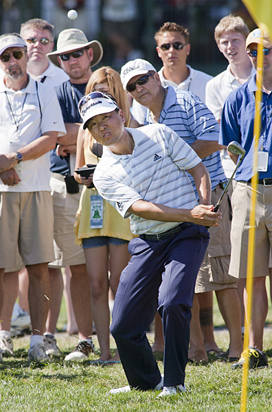 made six birdies and two bogeys to finish tied for second.