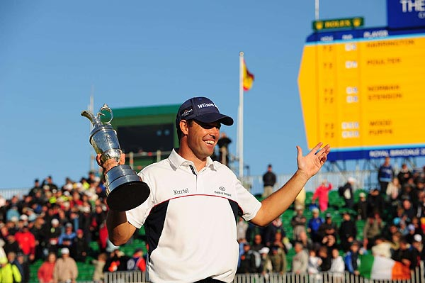 Final Round of the British Open                           Ireland's Padraig Harrington won his second-straight Claret Jug on Sunday by four strokes.