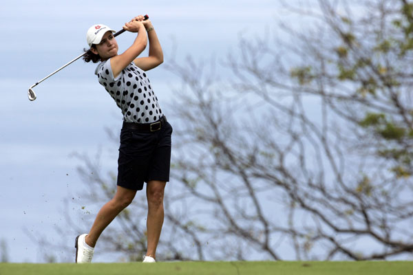 Second Round of the Evian Masters                           Lorena Ochoa led after round one, but she struggled on Friday, shooting a one-over 73.