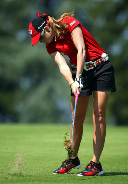Third Round of the Evian Masters                           Paula Creamer made birdies on 15 and 18 to finish at eight under.