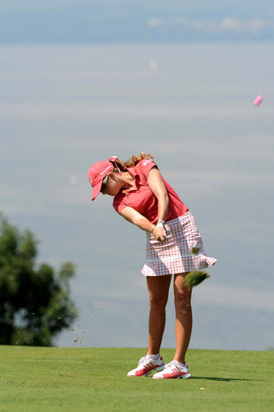 Paula Creamer tied for ninth.