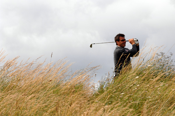 """Although I shot 3 over, I felt as though I was making bogey everywhere,"" said Faldo, winner of six majors, including three British Opens. ""I am still in it so, if I can find something and get the right attitude, then who knows what can happen."""
