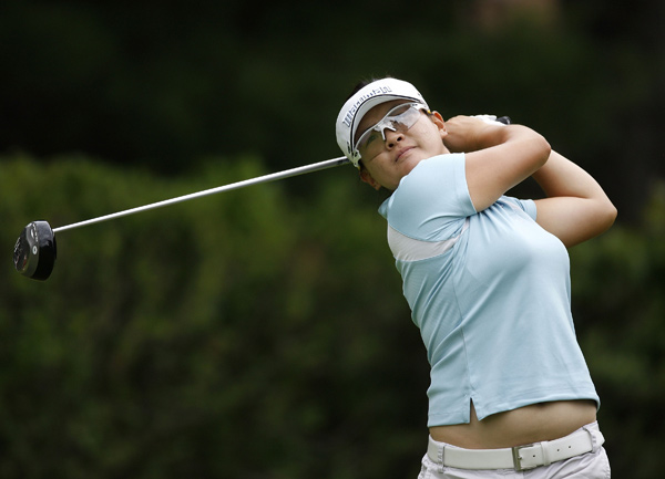 Third Round of Jamie Farr Owens Corning Classic                       Eunjung Yi fired a 61 on Saturday to grab a four-shot lead.