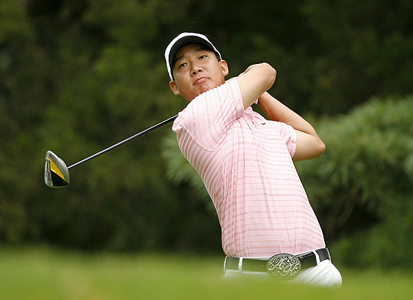 Final Round of the AT&T National                                              Anthony Kim shot a bogey-free 65, for a two-stroke win.