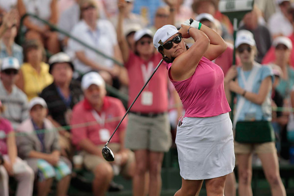 Christina Kim                       Past Solheim Cup Teams: 2005 and 2009                       Overall Record: 5-2-1