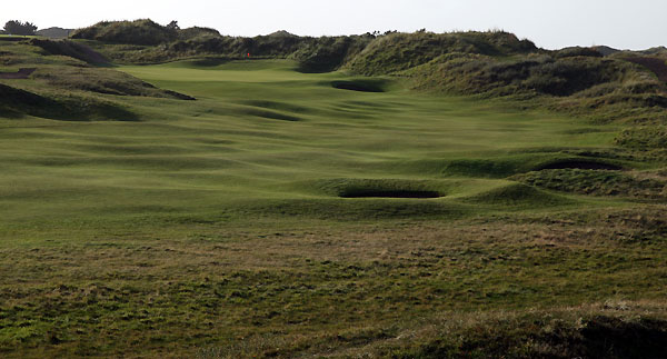 The 10th hole at Royal Birkdale Golf Club.