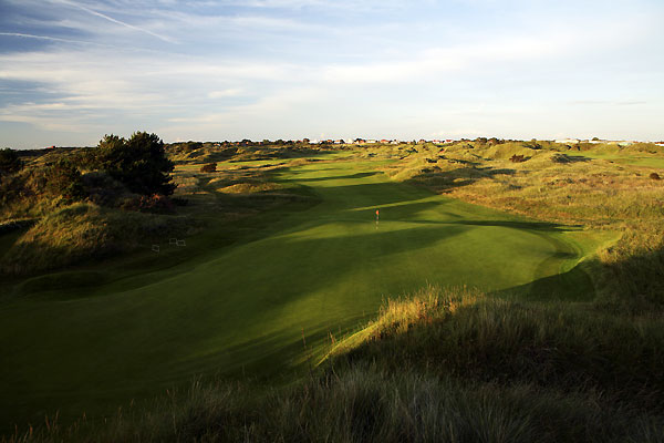 The 11th hole at Royal Birkdale Golf Club.