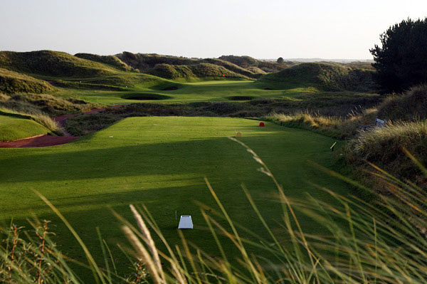The 12th hole hole at Royal Birkdale Golf Club.