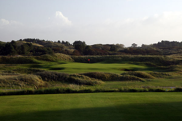 The 14th hole hole at Royal Birkdale Golf Club.