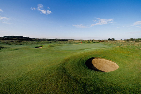 The 15th hole at Royal Birkdale Golf Club.