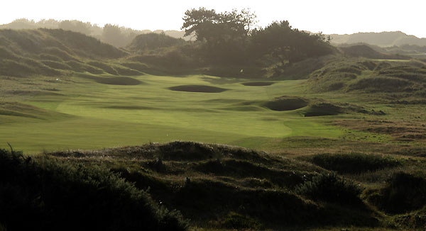 The 2nd hole at Royal Birkdale Golf Club.