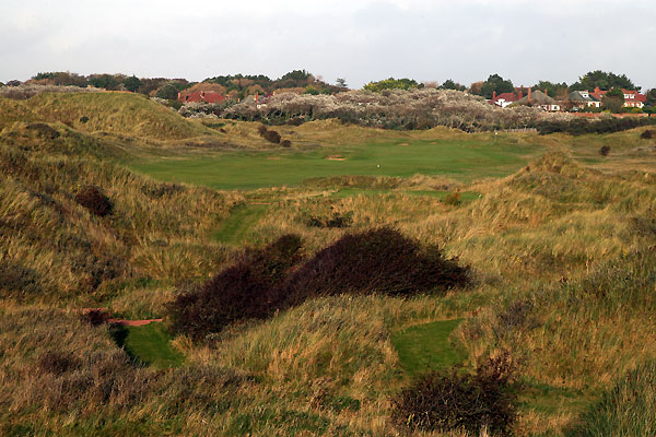 The 3rd hole at Royal Birkdale Golf Club.