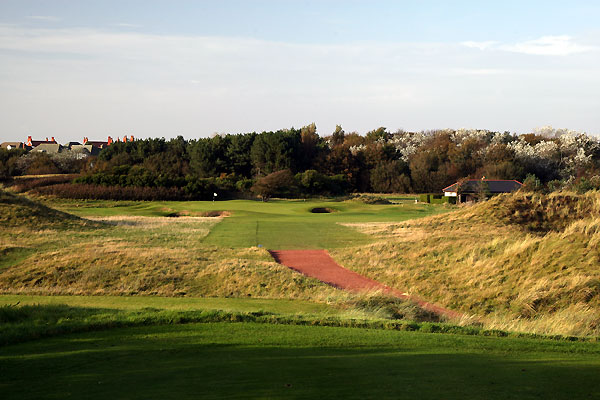 The 4th hole at Royal Birkdale Golf Club.
