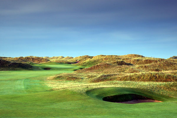 The 6th hole at Royal Birkdale Golf Club.